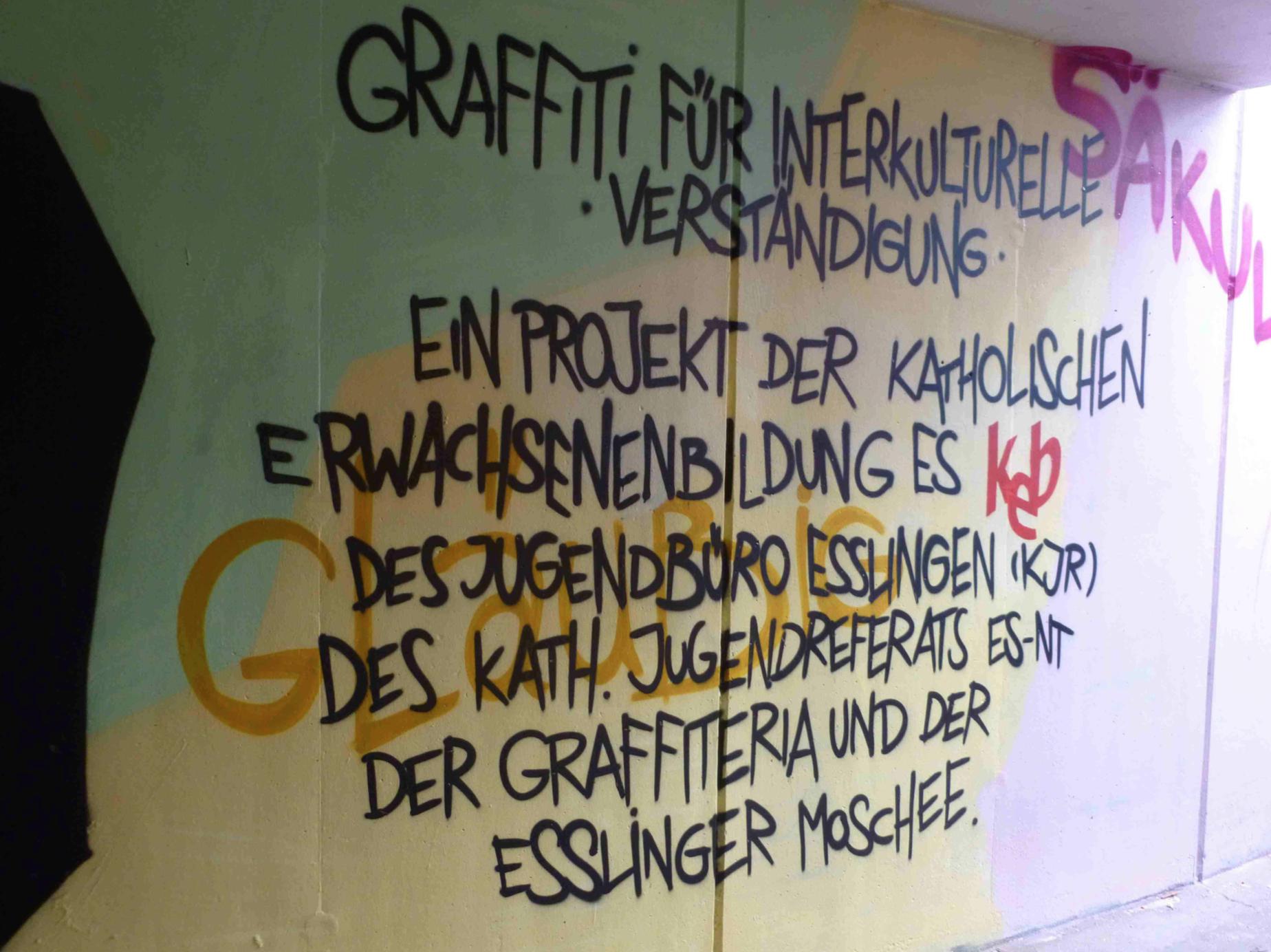 Graffiti für interkulturelles Verständnis
